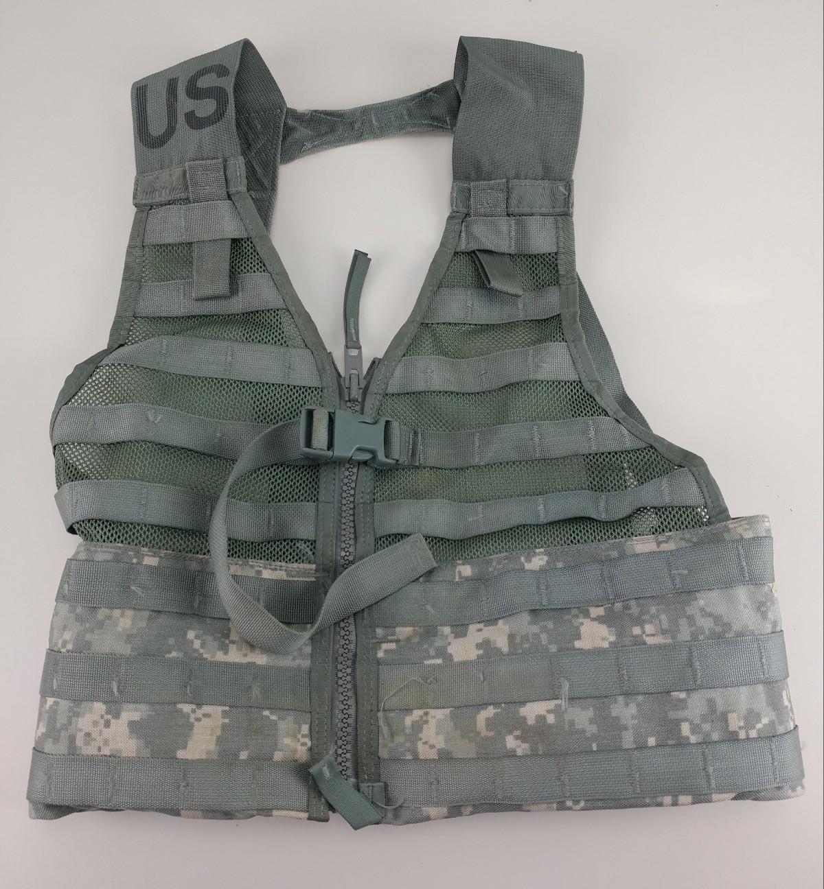 MOLLE II ACU Fighting Load Carrier Tactial Vest FLC Digital Camo
