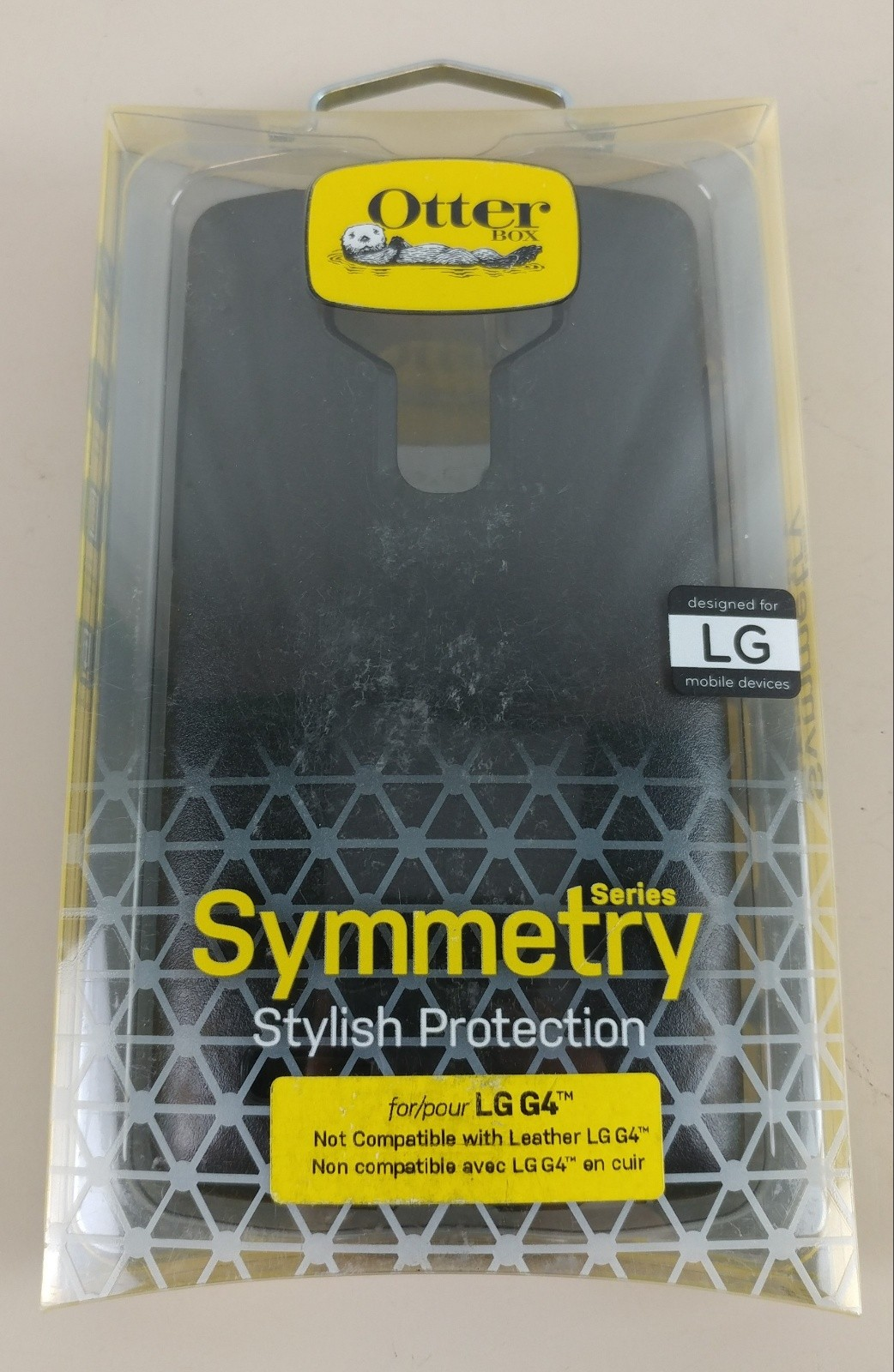 NEW Otterbox Symmetry Case for LG G4 Black