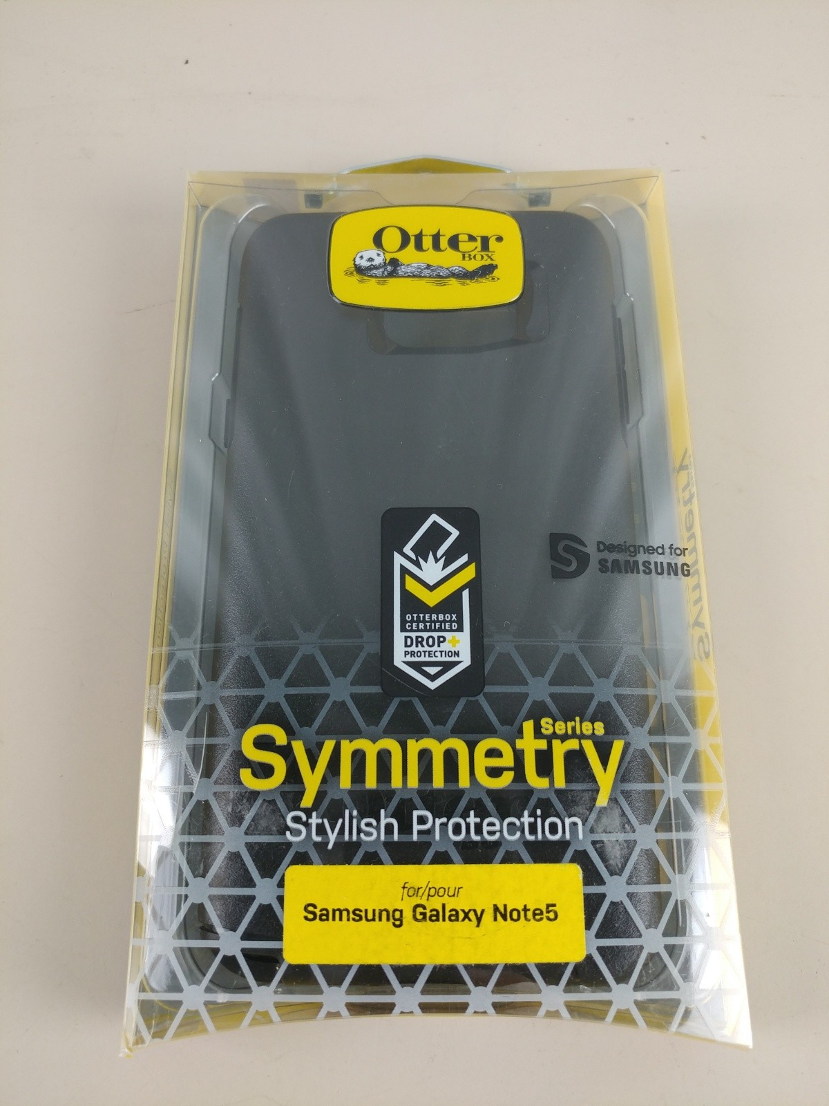 OtterBox Symmetry Case for Samsung Galaxy Note 5 Black