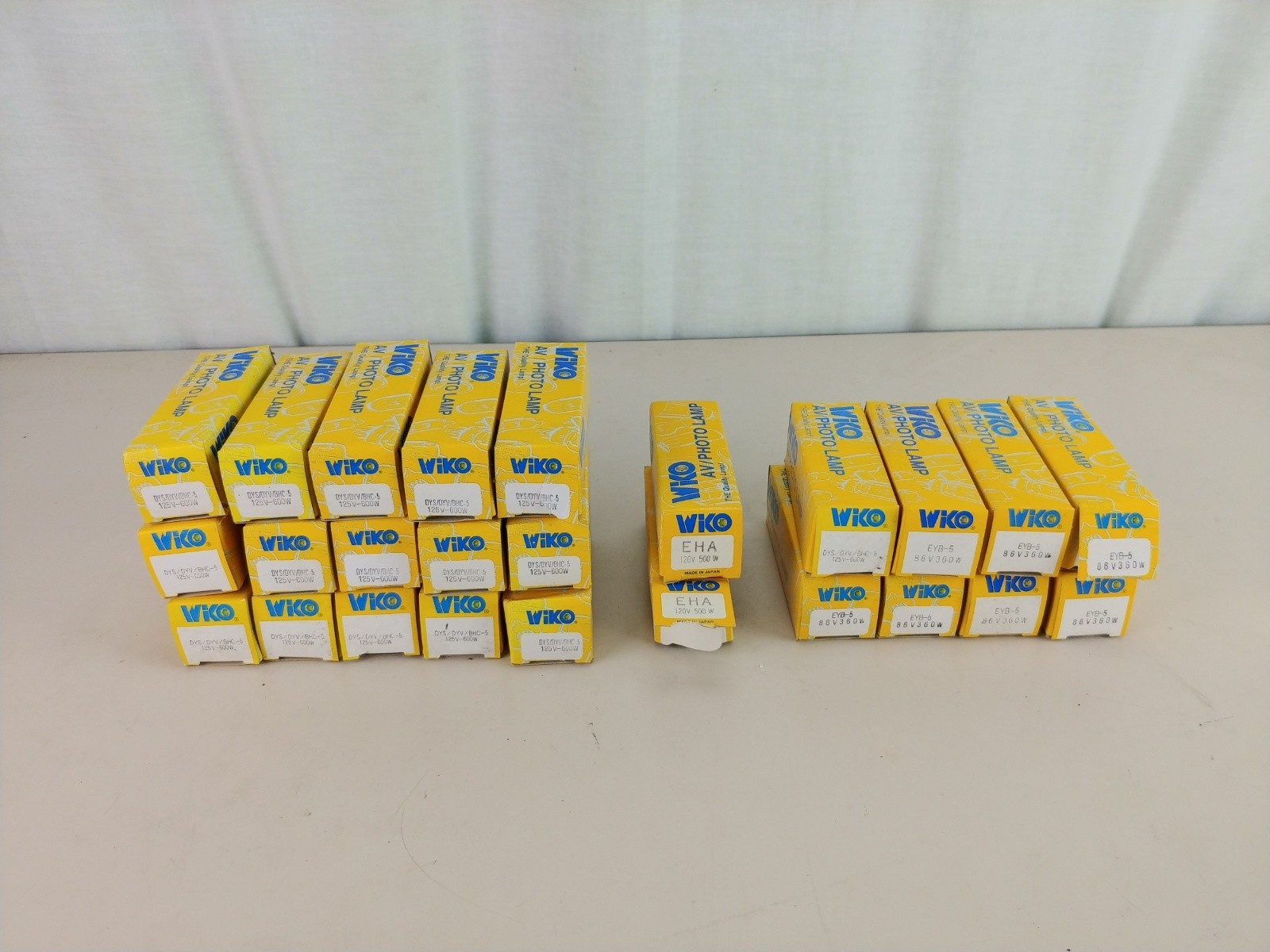 25 WIKO AV/Photo Lamps EVB-5 EHA DYS / DYV / BHC-5