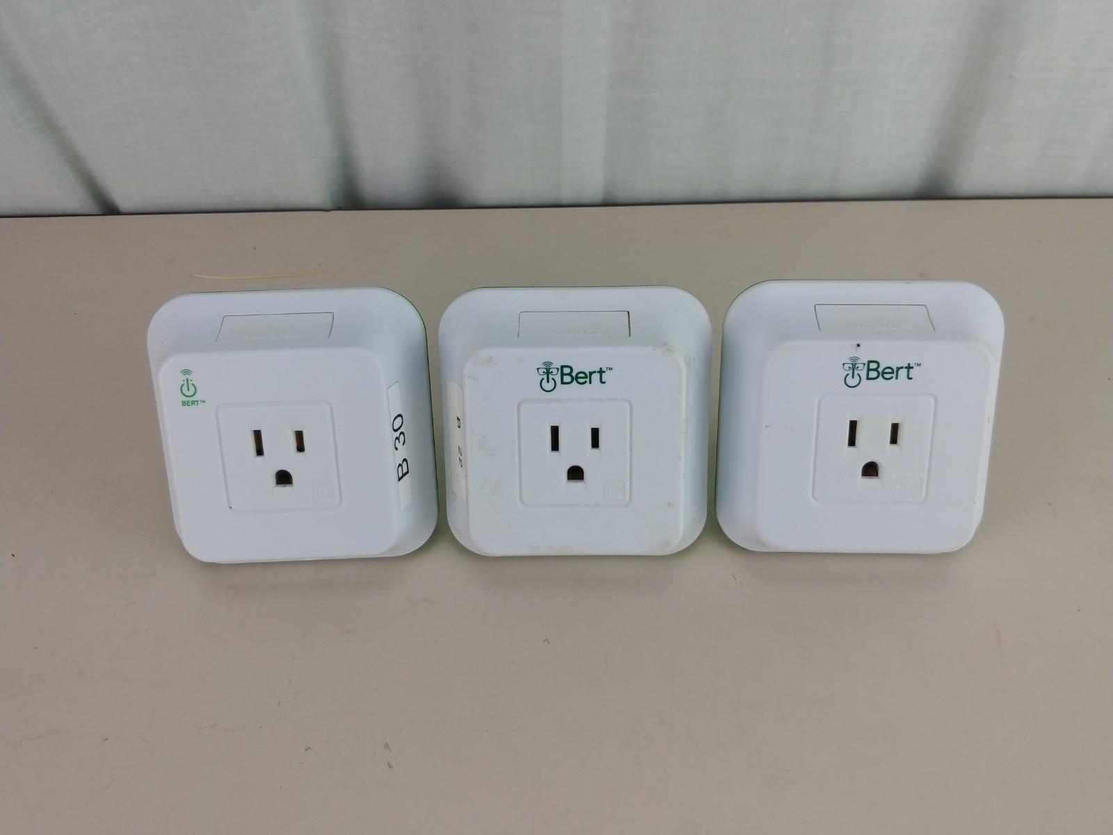Bert 110 WLAN Smart Plug Lot of 3