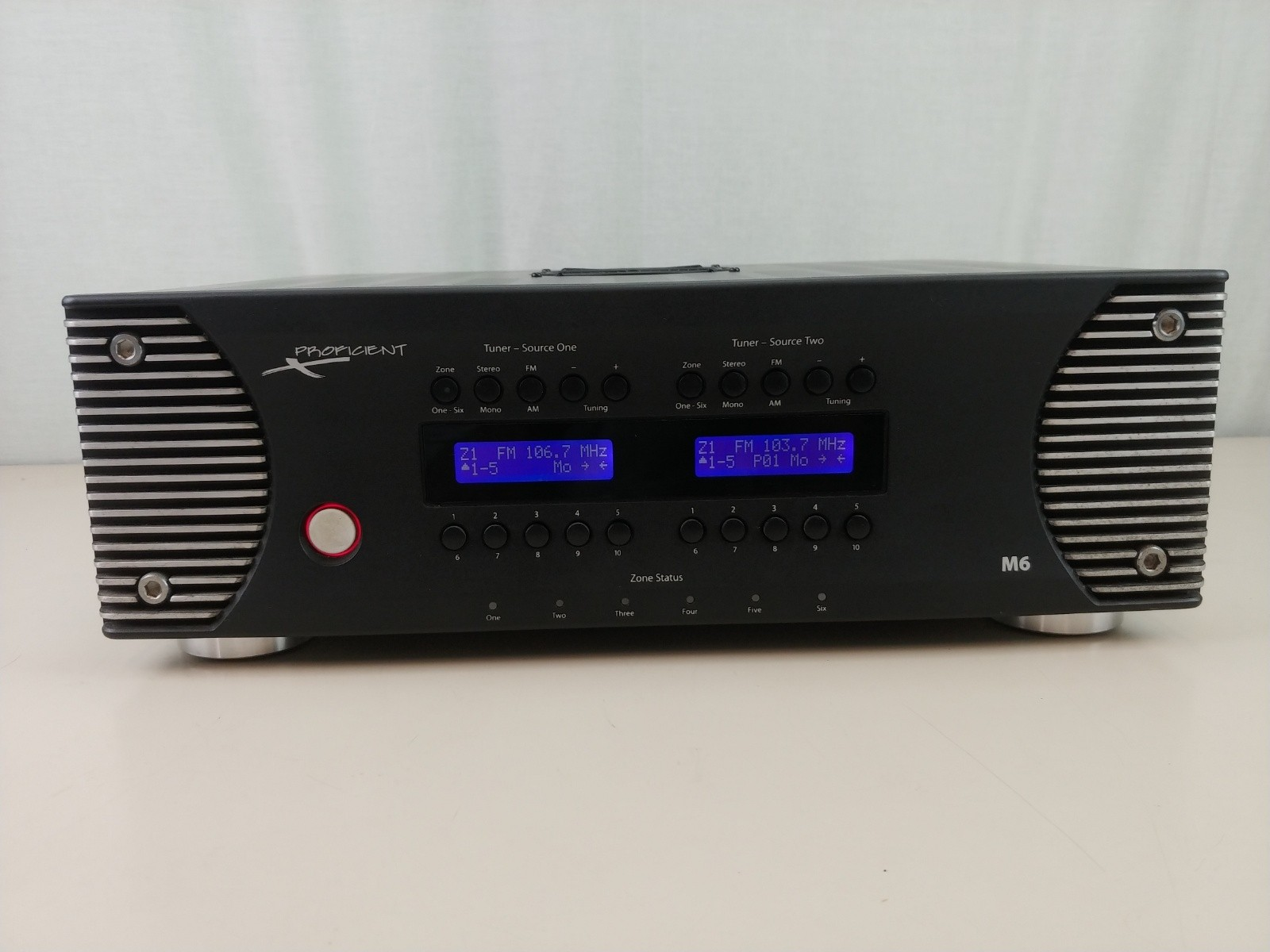 Proficient M6 Six Zone - Home or Commercial M6 MultiRoom Receiver