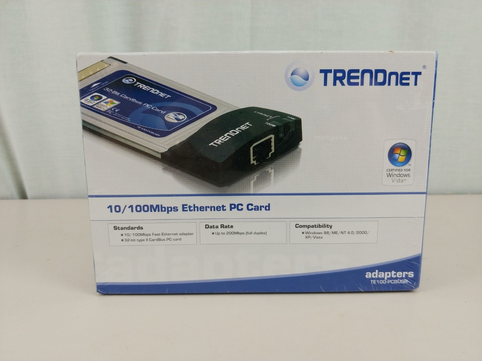 Trendnet 10 / 100 Ethernet PC Card PCMCIA NEW