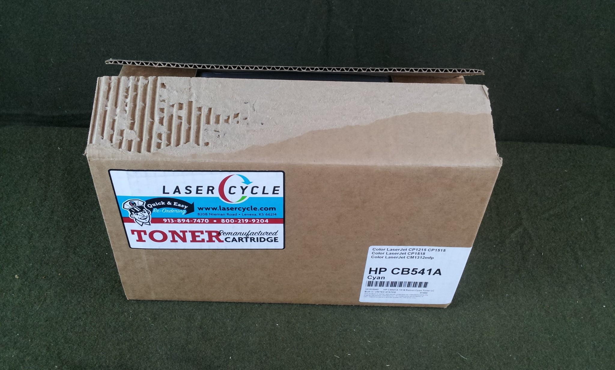 Laser Cycle Hp CB541A Cyan Toner Cartridge NEW
