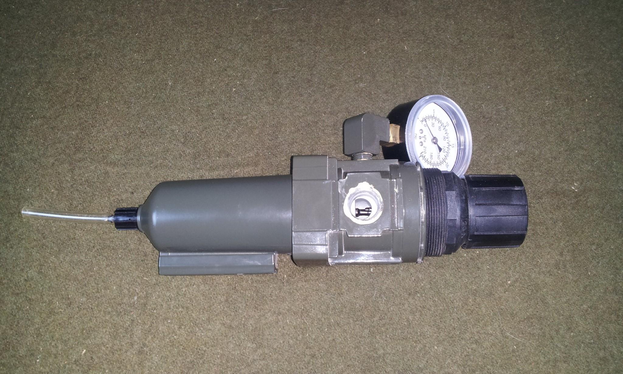 Marsh 0 to 30 PSI Air Filter Regulator