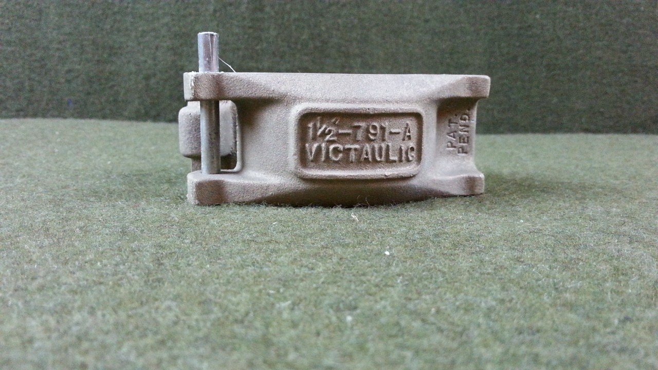 "Victaulic 1-1/2""-791-A Pipe Coupling Clamp New"