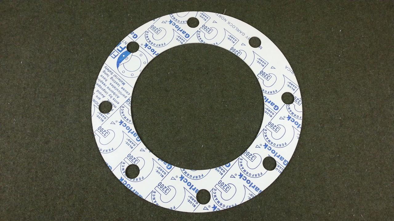 "Lot of 42 Garlock 3200 BLUE-GARD 8 Bolt Gasket 13-1/2"" OD 8-1/2"" ID"