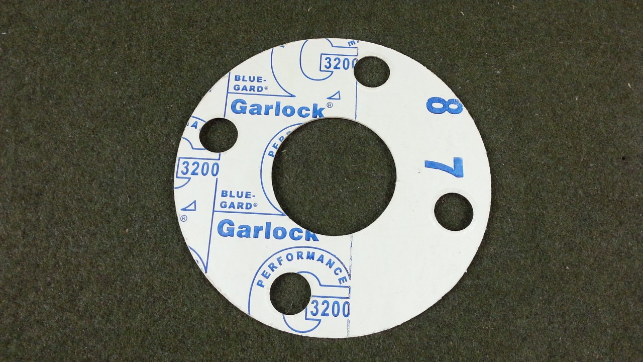 "Lot of 27 Garlock G3200 Blue-Gard 4 Bolt 6"" OD 2-3/8"" ID Gasket"