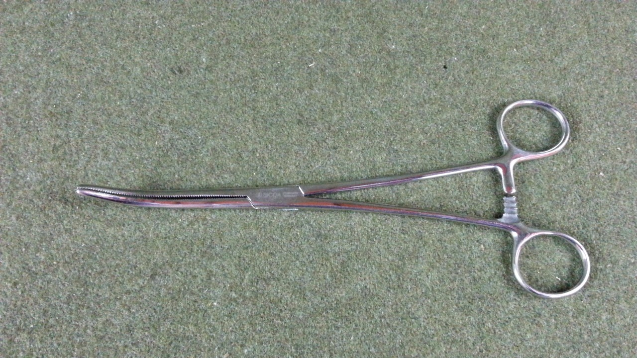 """4 Sicoa Rochester-Pean Forceps Curved 9"""" NEW"""