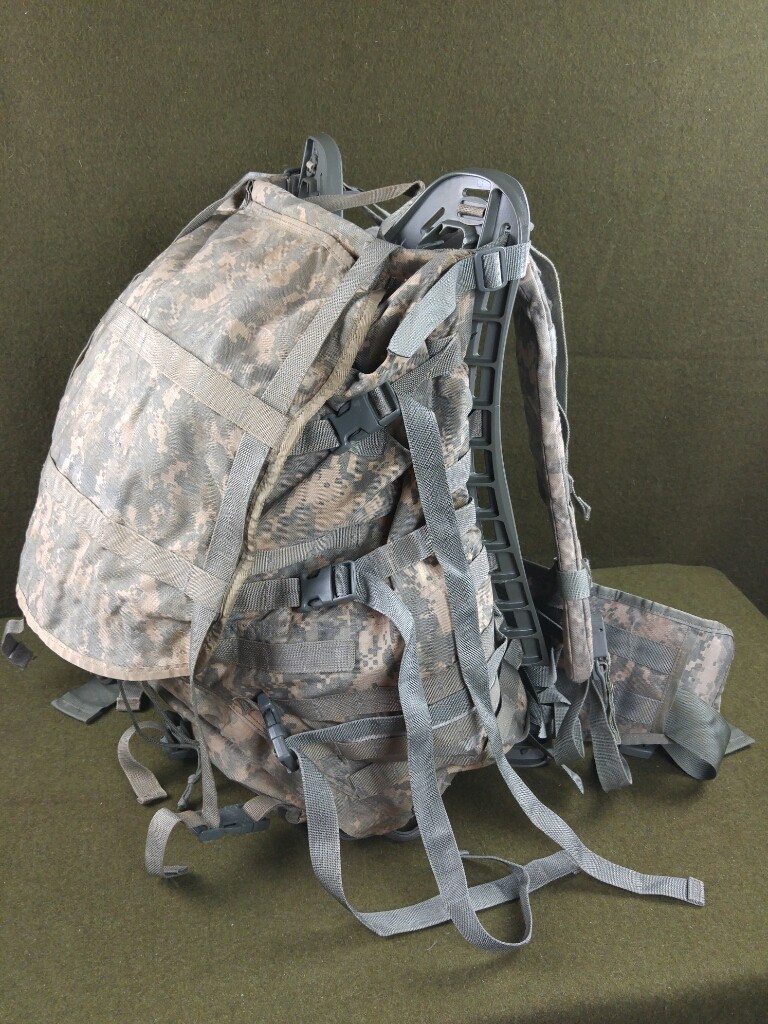 USGI Backpack MOLLE II Large ACU Rucksack Field Pack