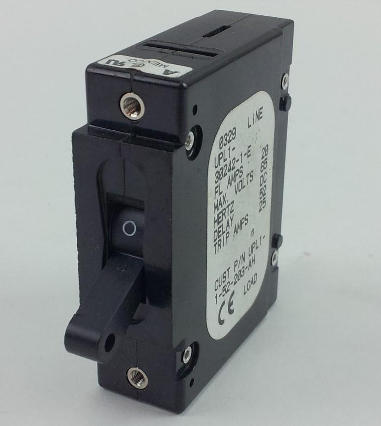 Airpax UPL1-30242-1-E 1 Pole 25 amp Circuit Breaker