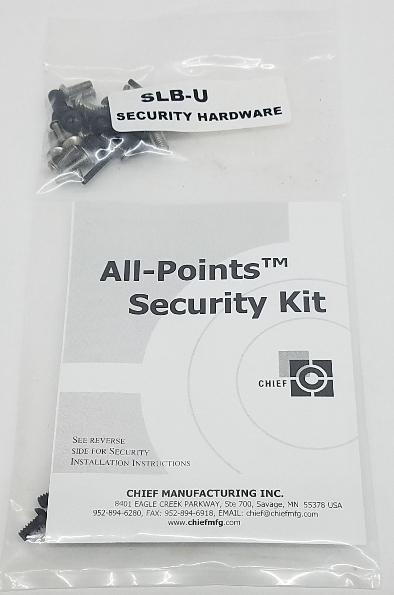 Chief SLBU All Points Security Hardware Kit