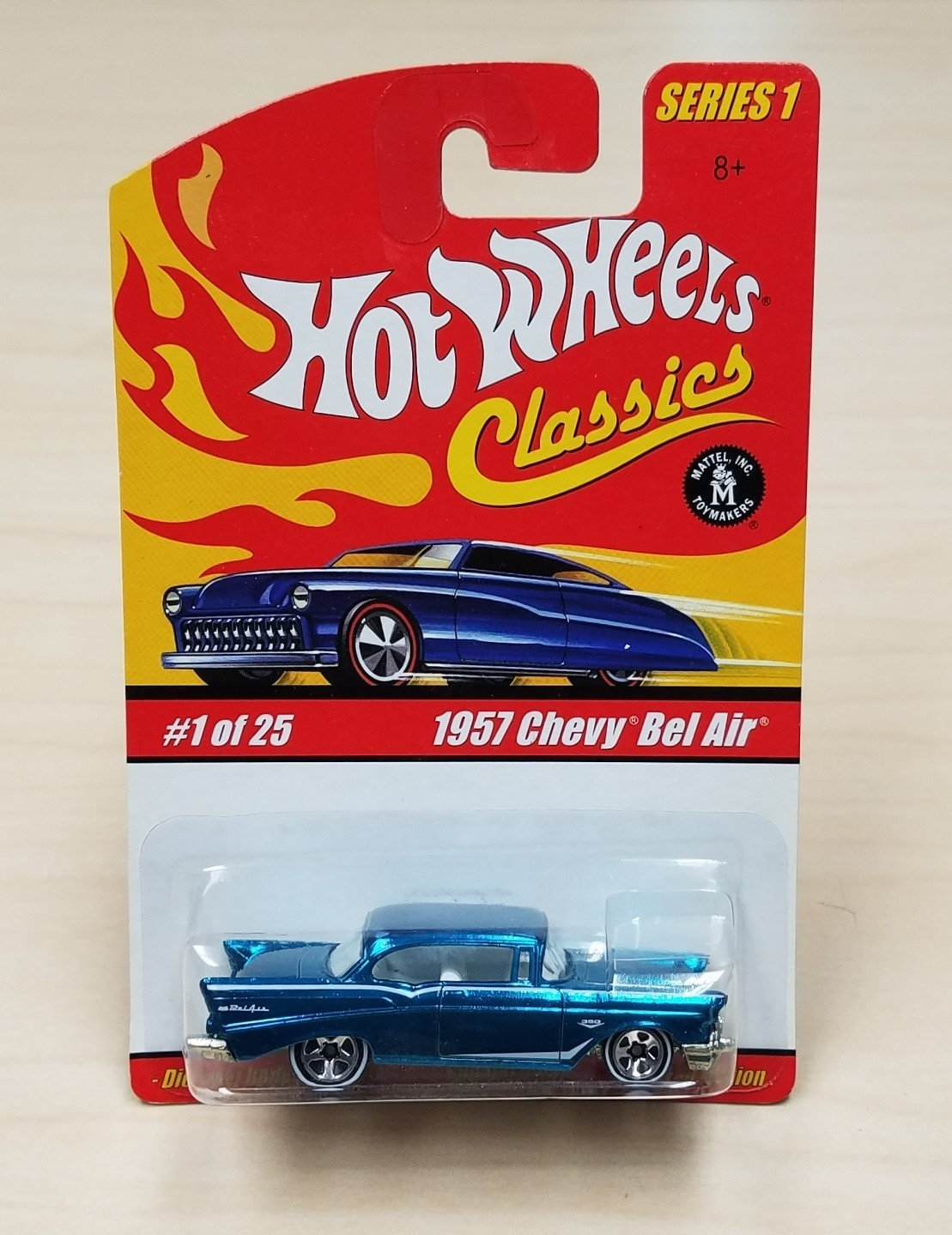 Hot Wheels Classics Series 1 1957 Chevy Bel Air Turquoise 1 of 25