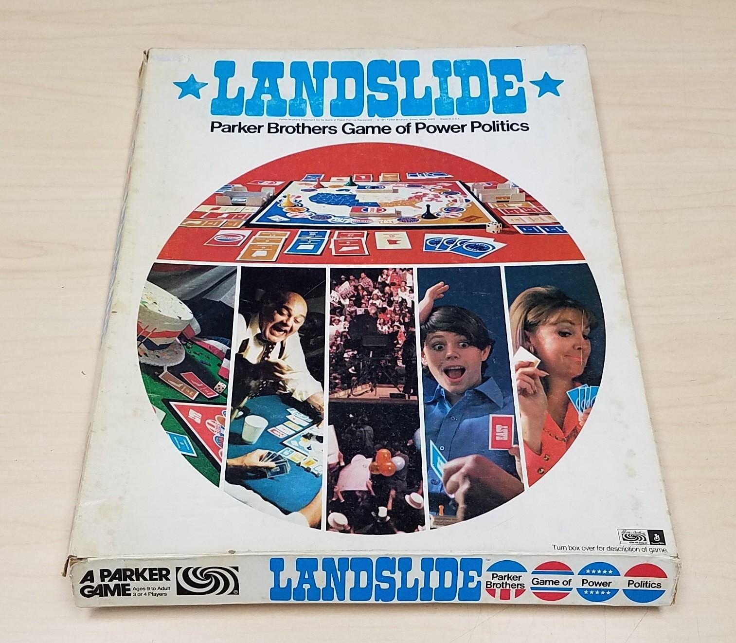 1971 LANDSLIDE Parker Brothers Game of Power Politics 100% Complete