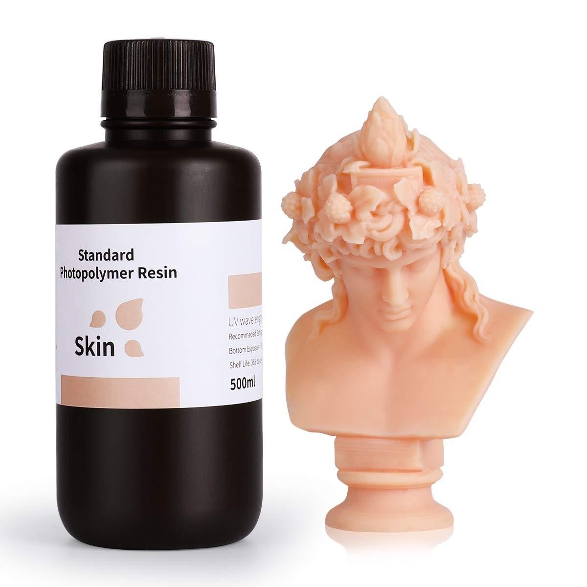 ELEGOO Standard 3D Printer Rapid Resin 500 Gram Skin
