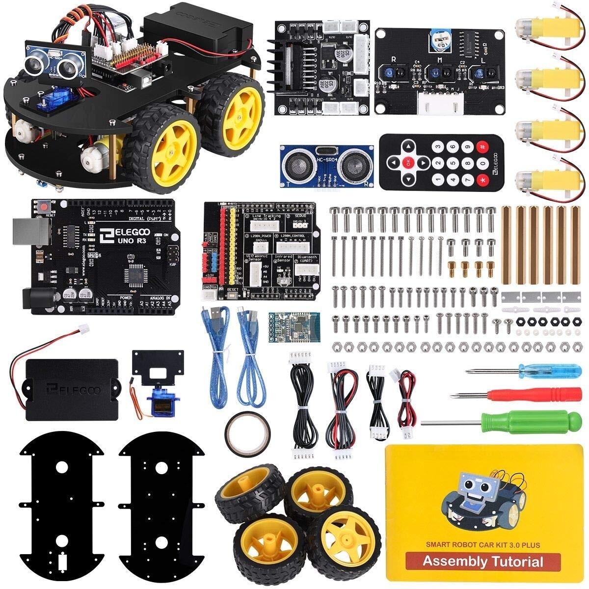 ELEGOO UNO R3 Project Smart Robot Car Kit V3.0 (Open Box)