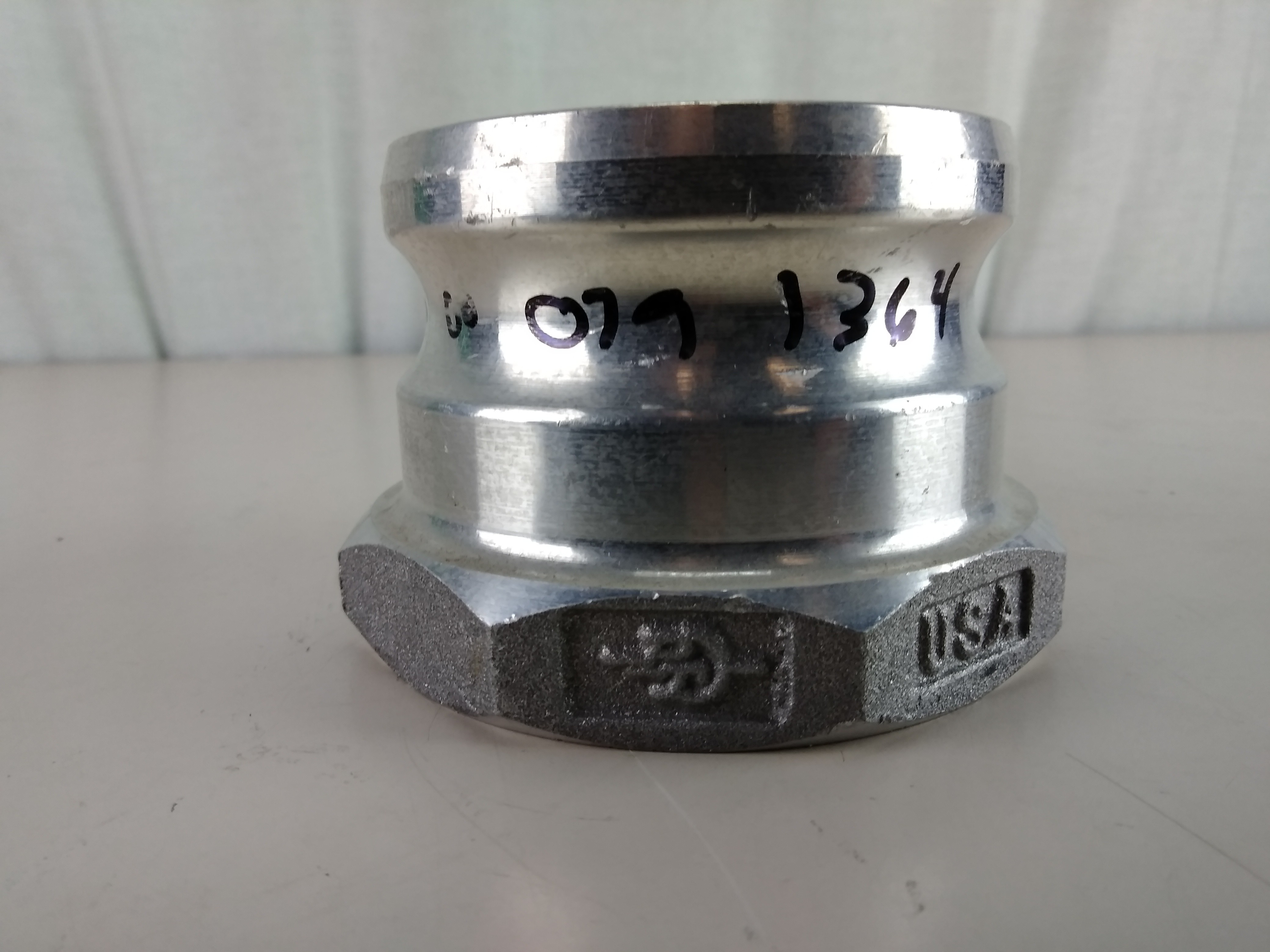 """Aluminum 3"""" Male Camlock Quick Disconnect Camlock to NPT 30A"""