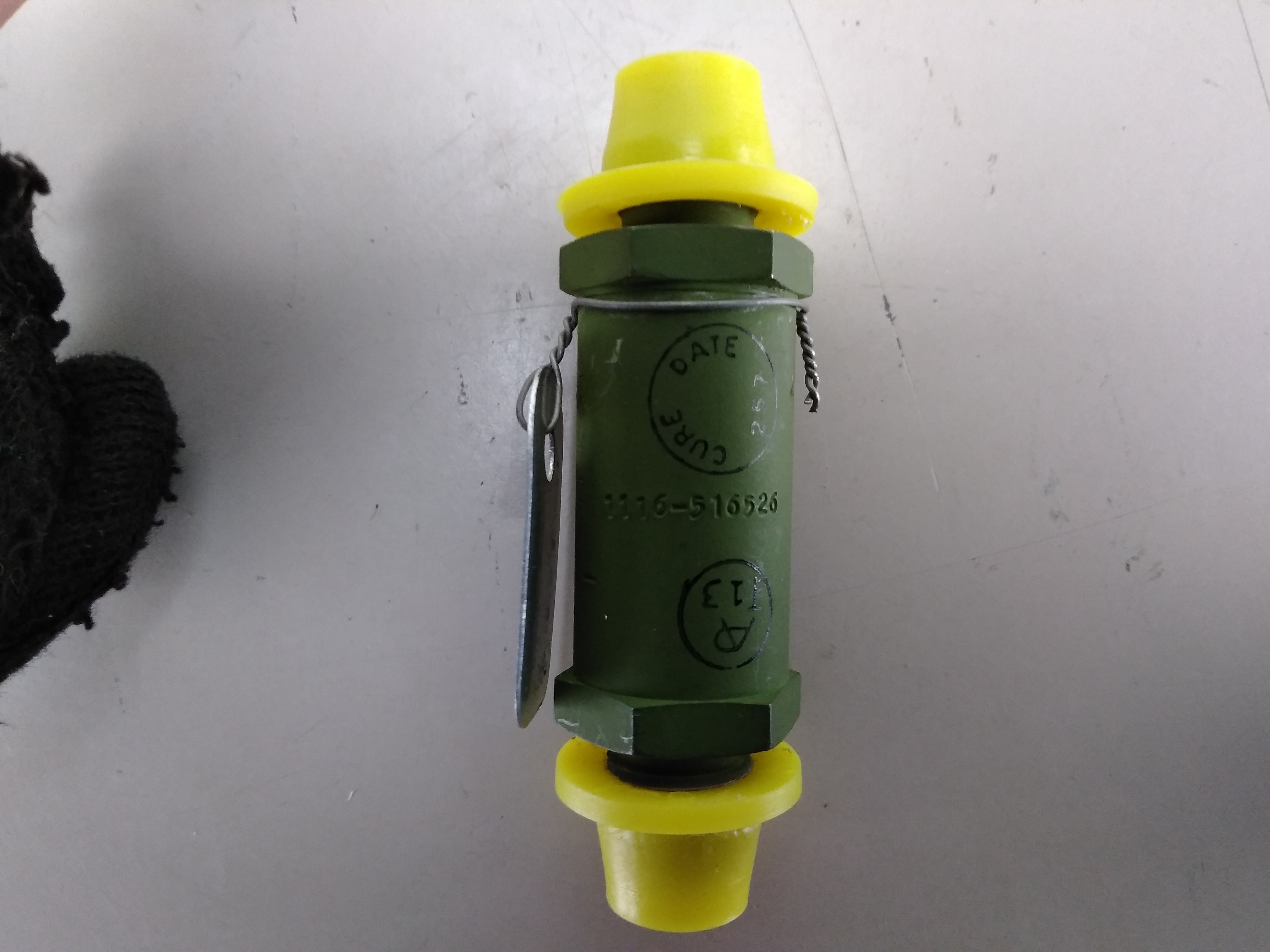 Parker-Hannifin 1500 psi In-line Check Valve NEW