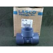 "Lasco PVC Schedule 80 2 1/2"" Tee Box of 5 New 801-025"