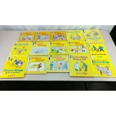 15 Curious George Childrens Books 13 Hardcover  Fair Condition