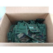 100 NEW MOLLE Woodland Camo 40MM Pyrotechnic Pocket Double Pouch