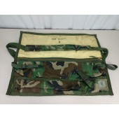 USGI Woodland Camo Spare Barrel Carrying Bag M240B