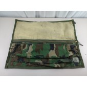 USGI Woodland Camo Spare Barrel Carrying Bag M240