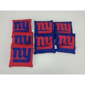 7 New York Giants Authentic Cornhole Bean Bags Wild Sports NFL Set New