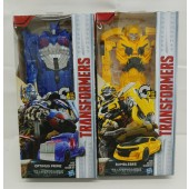 "Bumblebee & Optimus Prime Transformers The Last Knight 10"" By Hasbro"