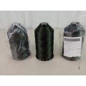 3 Spools US Military Type II Class A Bonded Nylon Thread OD Green 8310-00-559-5211