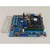 ASUS M4A78LT-M LE Motherboard Combo • AMD Athlon II X4 640 3.0GHz CPU • 4GB