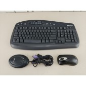 Microsoft Wireless Keyboard 1.1 & Wireless Mouse 2000 with PS/2 USB Receiver