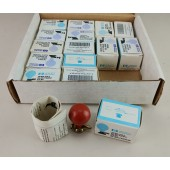 15 HP 14324A Chest Suction Cup Bulb ECG/EKG Ball Electrode for Spring Clip