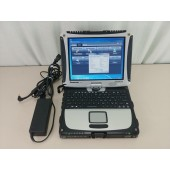 "Panasonic ToughBook CF-19 mk8 10"" i5 4GB 128GB SSD CF19z Win 7"
