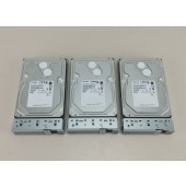 3 Toshiba 1TB 7.2K SAS Server Hard Drives HDD3A02EZK51