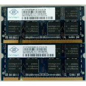 Nanya 2GB (2x1gb) PC2-5300S DDR2 667MHZ LAPTOP MEMORY RAM NT1GT64U8HA0BN