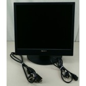 "19"" Sony SDM-X95F DVI LCD Monitor w/Speakers (Black)"