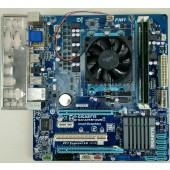 Gigabyte GA-A75M-D2H Motherboard Combo AMD A6-3500 4Gb Memory