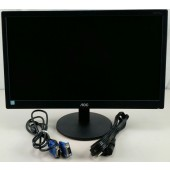 "Used AOC E2070SWHN 20"" LED Monitor"