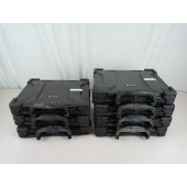 Lot of 7 Getac Rugged Laptops, C2D L2400, 2Gb, No HDD - AS IS For Parts