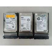 Lot of 3 HP/Dell 146Gb 15k SAS Drives w/ Caddies
