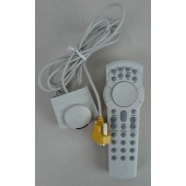 Vintage Packard Bell 14651, 14652 Serial Remote and Receiver - AS IS