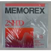 "Memorex 2SHD 10 Count 5.25"" Floppy Disk"