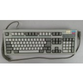 Vintage APC PC/AT Keyboard w/ Alps White Switches - Fully Tested