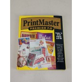 Printmaster Premier 7.0 Mindscape 7 CD's and Users Guide