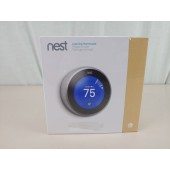 NEW Nest 3rd Gen. Learning Thermostat T3007ES - Stainless Steel