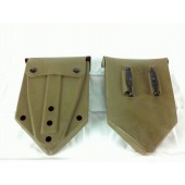 Lot of 2 Entrenching Tool E-Tool Cover OD Green 8465-00-001-6474 Nice