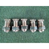 Burndy 14-2T KS23 DB Split Bolt Connector Lot of 5 New