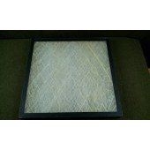 20 x 20 x 2 Air Filter Spun Glass Case of 12
