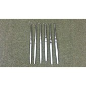 "6 1/2"" Tracheal Retractor Sharp One Prong Lot of 6"